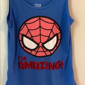 Spider Man halter top